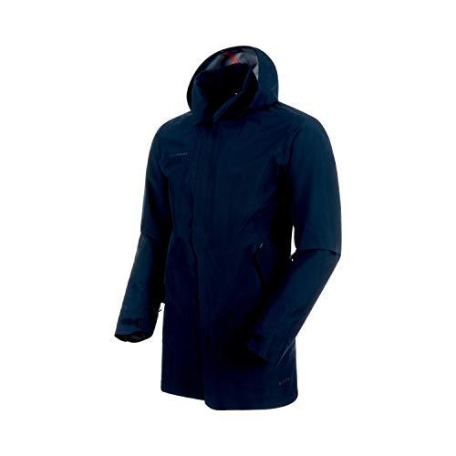 Mammut Herren Mantel, Seon 3in 1HS Hooded, blau (Marine)