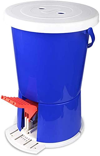 LLDKA Waschmaschine Pedal Pedal Manuelle Portable Waschmaschine Motion Fitness No Power Electronics Camping Haus Schlafzimmer