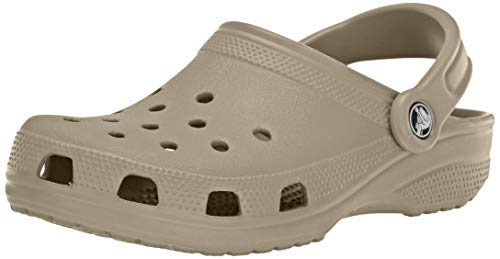 Crocs Classic Clog|Comfortable Slip On Casual Water Shoe, cobblestone, 6 M US Women / 4 M US Men