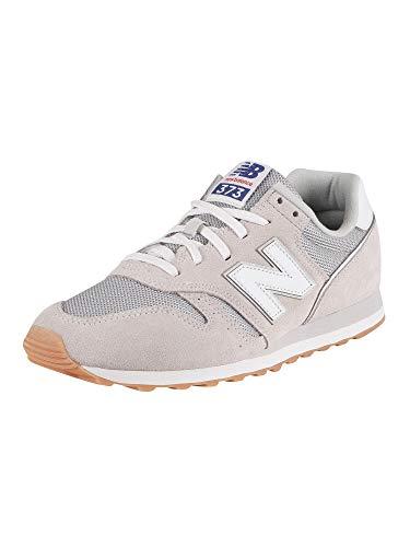 New Balance Herren 373v2 Sneaker, Grau (Grey/White Dc2), 43 EU