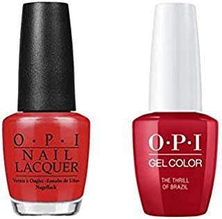 The Thrill of Brazil Nail Lacquer + Gel New Bottle A16