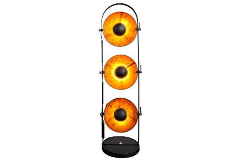 DuNord Design vloerlamp Cinema zwart goud 3