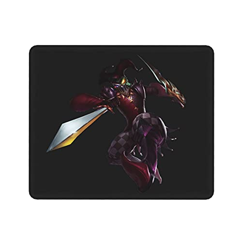 Shaco L-oL League Legends Mouse Pad,LOL Gaming Mouse Pad,Non-Slip Rubber Mouse Mat for Pc Computer