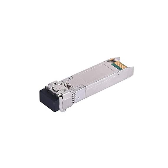 QSFPTEK SFP Module 3 Compatible for Ubiquiti UF-MM-10G, other Open Switch. Widely used in fiber switches, routers, NIC, server or other fiber optic equipments with 10Gb SFP+ ports,such as: Ubiquiti EdgeSwitch 48 750W. 10GBASE-SR SFP+ module: 10Gb/s data rate, Multimode, duplex LC connector, 850nm wavelength, the transmission distance up to 300m, DDM support, working temperature: 0℃ ~ +70℃. Tx Power(dBm): -6.5 ~ -0.5, Rx Sens.(dBm): < -11.1. Easy to use & Support DDM: Plug and play, hot-pluggable. Rotate the ring latch down at 90 degree angle to unlock, then pulling transceiver out from switch. DDM support: DDM allows you to monitor the critical information, to find out some potential problems.