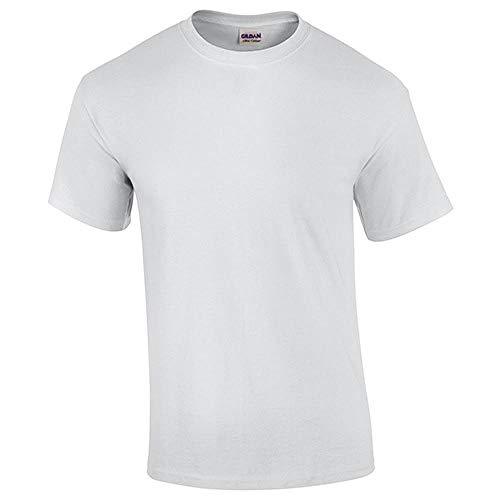 NOBRAND Camiseta de secado rápido de manga corta para correr ropa de secado rápido Blanco blanco XXXL