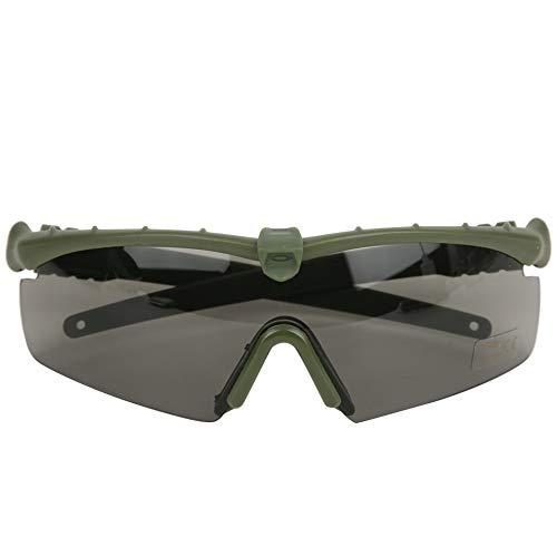 DAUERHAFT Gafas tácticas Mano de Obra Exquisita Protección Ocular Militar Material de PC de Calidad, Protección Ocular de Tiro(Army Green)