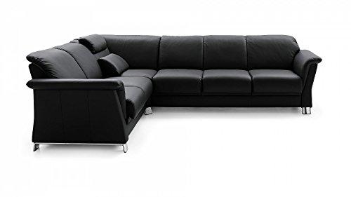 Prima Clever einrichten® Stressless E40 luxe hoekbank zwart voordelig