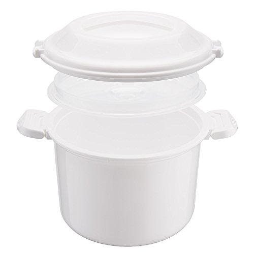 Reishunger arrocera microondas, de 1, 2 l para 4 Personas, también ...
