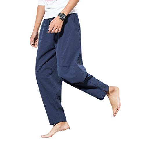 Katenyl Herren Plus Size Haremshose Mode Entspannt Konisch Einfarbig Einfachheit Lässig Bequem Vielseitig Hose L