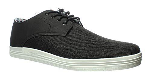 Ben Sherman Mens Preston Oxford Black Oxford Dress Shoe Size 9