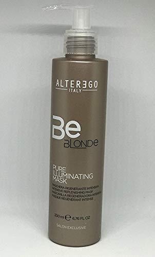 Alter Ego Mascarilla regeneradora intensiva BE BLONDE PURE ILLUMINATING (200 ml)