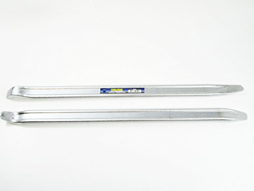 Professional 18' x 1' Chrome Plated D/F Tyre Lever Set of 2 AU182