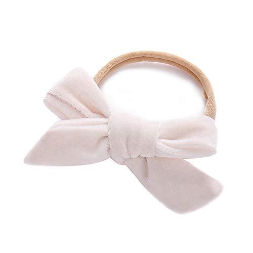 Hand mini velvet haarband voor baby's nylon haarband cadeau fotografie accessoires