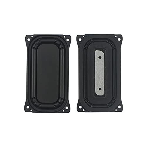 Wnuanjun 2 stücke 88mm * 48mm Passive Kühler Lautsprecher Bass Vibration Membran Tragbare Subwoofer Zubehör DIY Rechteck