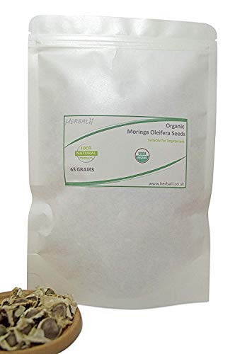 Moringa Oleifera Seeds | Organic Certified | (110 Seeds)