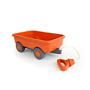 green toys wagon outdoor toy orange - 31LXxbOQruL - Green Toys Wagon Outdoor Toy Orange