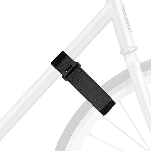 4 Pack Adjustable Bike Rack Strap, Stonger Reusable Grip with Adjustable and Durable Hook & Loop for Bundling Bicycles, Skis, Mini Bike Pumps, Yoga Mats