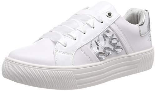 Dockers by Gerli Damen 42BM218-610500 Sneaker, Weiß (Weiss 500), 40 EU