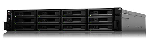 Synology RackStation RS2418/EU NAS Rack (2U) Ethernet LAN Black, Grey storage server