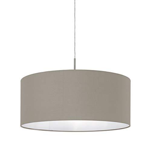 lampadario camera da letto tessuto Eglo 31576 Pasteri - Lampada a sospensione