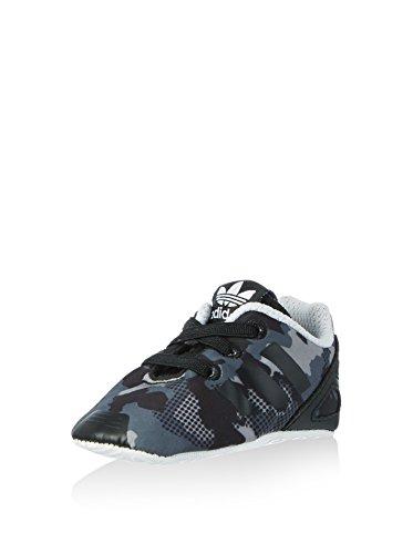 adidas Zapatillas ZX Flux Neonato Crib Negro/Gris EU 21 (UK 5K)