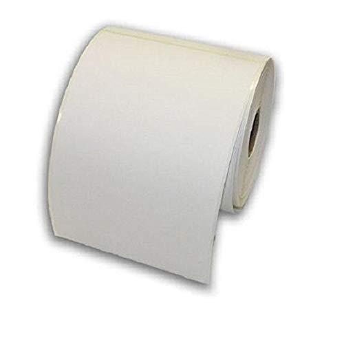 Thermoeetiketten, 15,2 x 10,2 cm, selbstklebend, blanko, 500 Etiketten pro Rolle GK420D, GX420T, GK420T, LP2844, LP2824 1 Roll weiß
