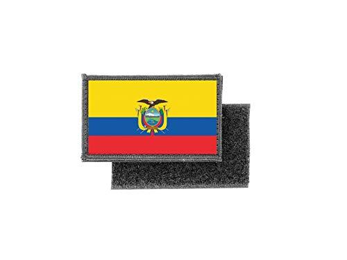 Aufnäher patch aufbügler gedruckt flagge fahne ecuador