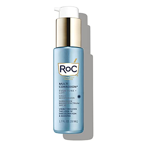 RoC Multi Correxion 5 in 1 Anti-Aging Daily Face Moisturizer with SPF 30, 1.7 Ounces (Packaging May Vary)