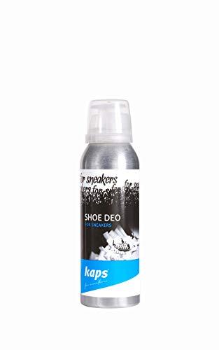 Kaps Shoe Deo | Hygienisches Schuh-Deo gegen unangenehmen Fußgeruch für Sneaker, Sportschuhe und Arbeitsschuhe | Frisches Schuh-Spray, 125 ml