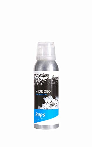Kaps Deodorante per Scarpe, Spray Elimina Odori per Sneakers, Scarpe da Ginnastica, Calzature, Spray Rinfrescante Deodorante per Scarpe, 125 ml