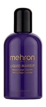 Mehron Makeup Liquid Face and Body Paint  4.5 oz   PURPLE