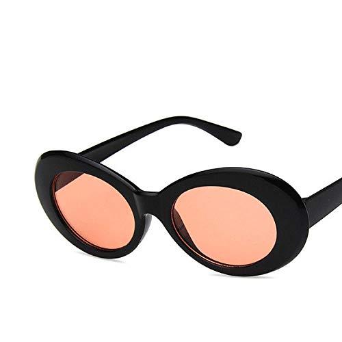 Gafas de sol de las Mujeres Funky Moda Gafas de sol Oval Mujeres Hombres Retro Mujeres Masculino Gafas de Sol de las Mujeres Gafas Uv400