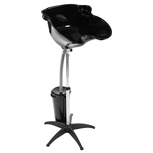 Hair Basin, Adjustable Hair Shampoo Sink Portable Hairdressing Back Wash...