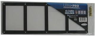 ウルトラプロ 黒枠フレーム カード4枚用スクリューダウン