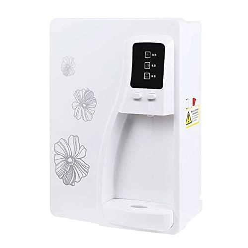 MERSHAO Dispensador de agua caliente de agua de calefacción instantánea cálida de pared, 55 0W, 220V-50HZ, Grande LCD- Pantalla, protección seca y sobrecalentadora, cerradura para niños, filtro de mat