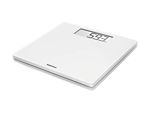 Soehnle Pèse-personne numérique Style Sense Safe 100, pèse personne électronique capacité 180 kg, balance salle de bain avec surface antidérapante