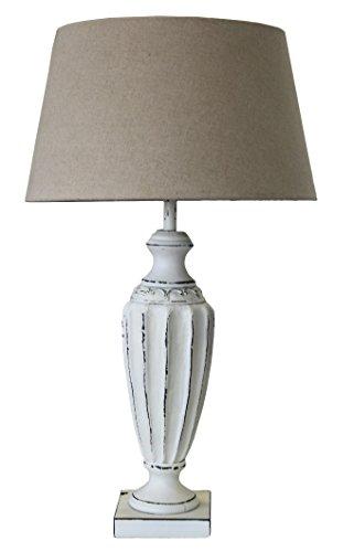 Lámpara de mesa Shabby Chic