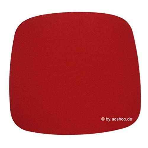 Hey Sign Filzauflage Eames Plastic Armchair Antirutsch rot 5011137_11AR