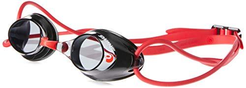 SWANS Schwimmbrille SRX-N PAF - Wettkampf Brille, Farbe:Black red (BK/R)
