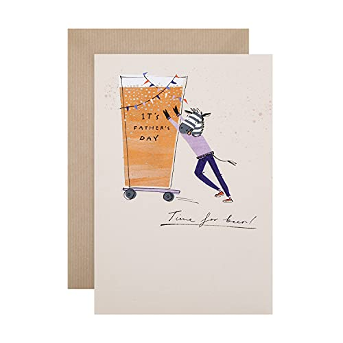 Father's Day Card from Hallmark - Contemporary Illustrated Desig