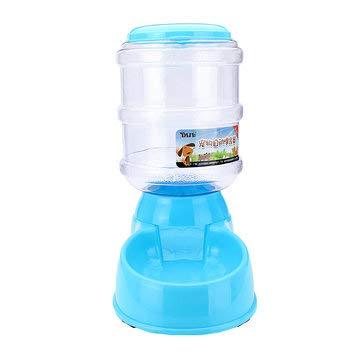 TuToy Dispensador Automático De Bebidas De Comida Para Gatos Para Perros Grandes De 3.5L Plato De Alimentación Del Tazón De Agua - Azul