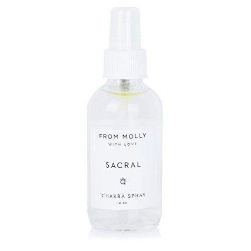SACRAL CHAKRA Spray - Aromatherapy essential oil spray (4 oz)