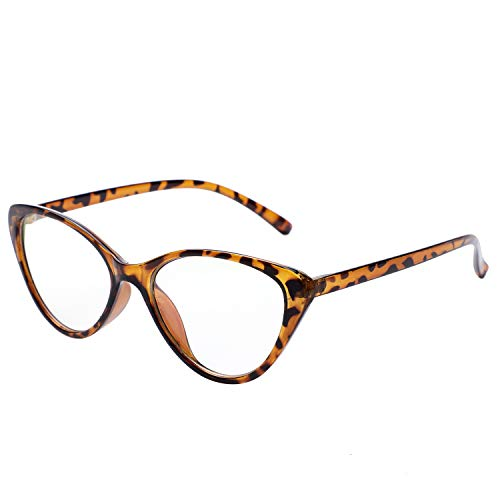 Cat Eye Distance Glasses Women -0.50 to -4.00 Retro Nearsighted Myopia Glasses