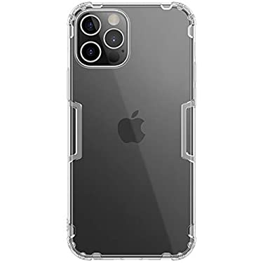 """Nillkin Case for Apple iPhone 12 Pro Max (6.7"""" Inch) Nature Series Back Soft Flexible TPU White Color"""