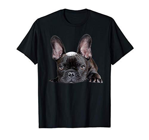 French Bulldog Shirt Yarmulke Hanukkah Funny Chanukah Gift T-Shirt