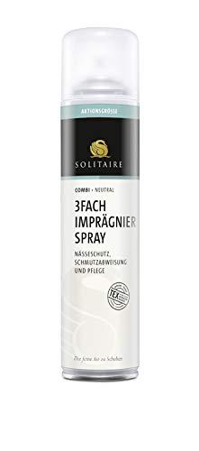 Solitaire 3-Fach Imprägnierspray 400ml Nässeschutz Schmutzabweisung und Pflege