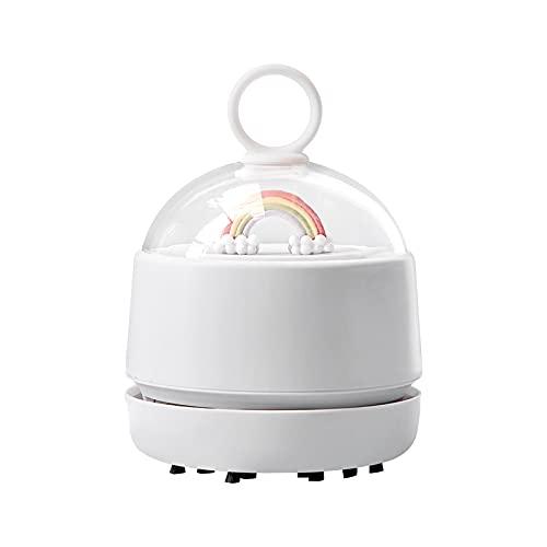 SunshineFace Aspirador de uñas, USB recargable colector de polvo eléctrico herramienta de limpieza para manicura