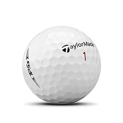 TaylorMade Golf Mens TP5X 5-Layers Tour Golf Balls 1 Dozen