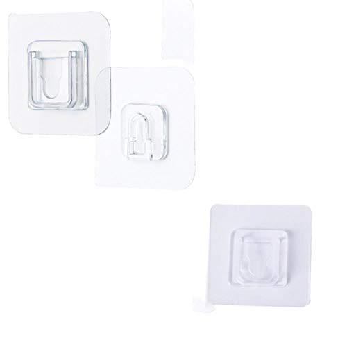 1 par de doble cara adhesivo de pared gancho de pasta enchufe titular de cable de almacenamiento enchufe de fijación organizar costuras impermeables reutilizables-10pair,gancho,China