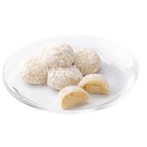 新杵堂 栗〜む大福 15個 | 和のカスタードクリーム | 柔らかく蒸したお餅に、栗きんとんの和カスタードが絶妙な按配 ギフト お歳暮